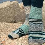 Beach Chair Socks Pattern