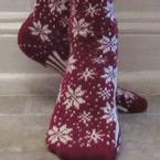 Winter 2017: Snow Socks Pattern