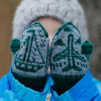 On the Move Toddler Mittens Pattern