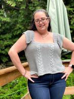 Raspberry Ribs Jacket Pattern Pattern