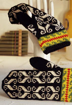 Mittens from Ivo Pattern Pattern