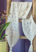 Peruvian Cat Lace Scarf Pattern