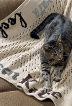 The Cat Afghan Pattern Pattern