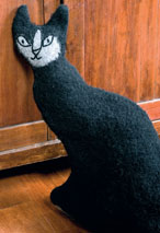 Felted Cat Doorstop Pattern Pattern