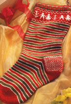 Holiday Stocking Pattern Pattern