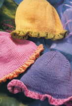 Ruffled-Edge Hat Pattern Pattern