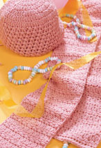 Pretty in Pink Hat & Scarf Pattern Pattern