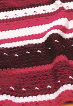 Crocheted Lap Blanket Pattern