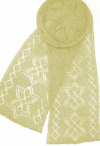 North Star Tam & Scarf Pattern Pattern