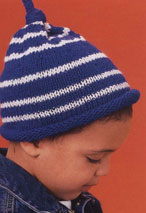 Striped Stocking Cap Pattern Pattern