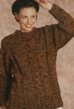 Center Cable Pullover Pattern Pattern