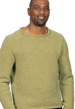 Comforolled Crocheted Pullover Pattern Pattern