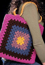Granny (not so) Square Tote Pattern Pattern