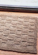 Hemp Doormat Pattern Pattern
