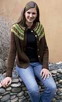 Kelley's Fair Isle Cardigan Pattern Pattern