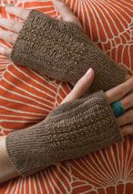 Fingerless Garter Mitts Pattern