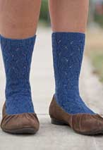 Serpentine Socks Pattern Pattern