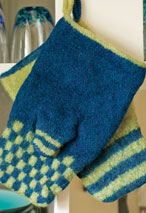 Felted Oven Mitts Pattern