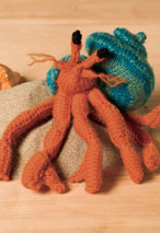 Hermit Crab Toy Pattern Pattern