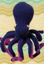 Common Octopus Toy Pattern Pattern