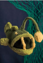 Black-Devil Anglerfish Toy Pattern Pattern