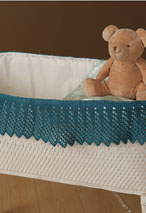 A Kinder Gentler Moses Basket Lace Pattern Pattern