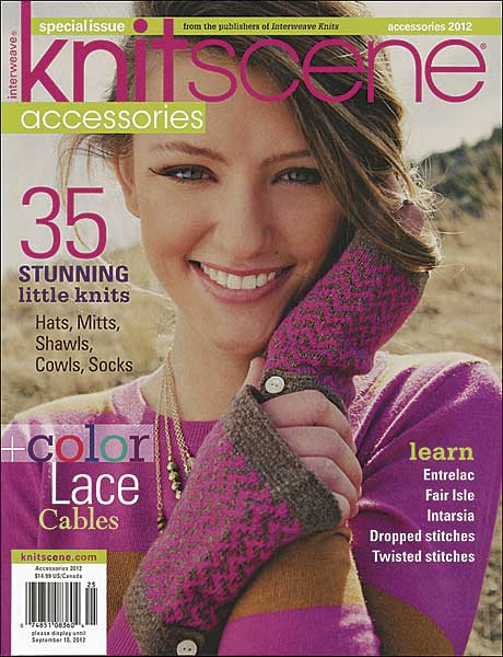 Knitscene Accessories Magazine 2012