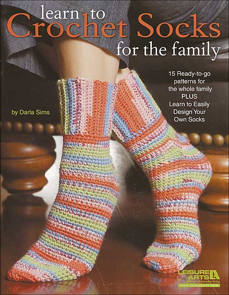 Learn to Crochet Socks for the Family