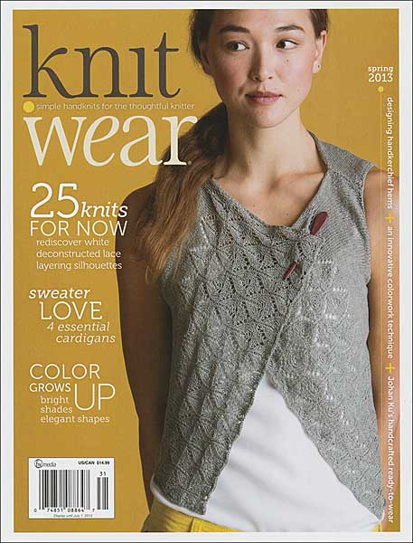 Knit Wear Magazine, Spring 2013