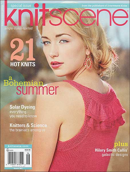 Knitscene Magazine, Summer 2013