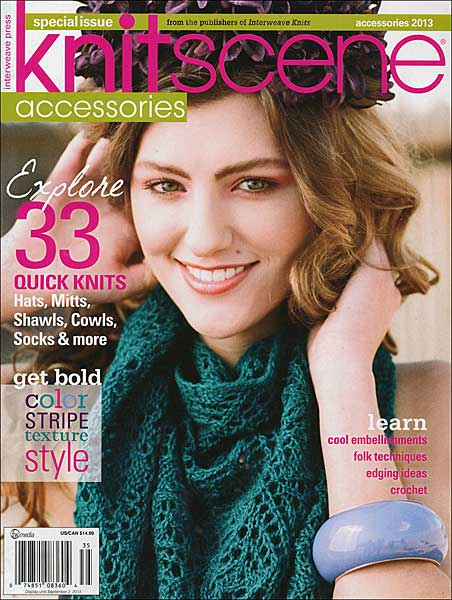 Knitscene Accessories Magazine 2013