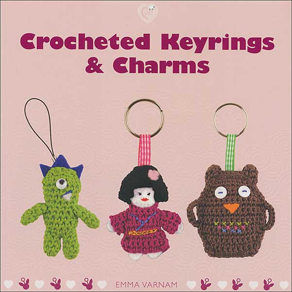 Crocheted Keyrings & Charms