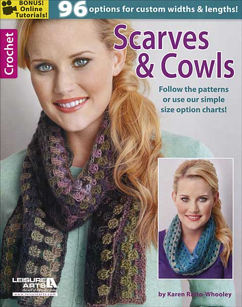Scarves & Cowls: Crochet