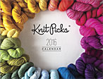 Knit Picks 2016 Calendar