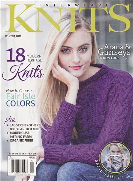 Interweave Knits Magazine - Winter 2016