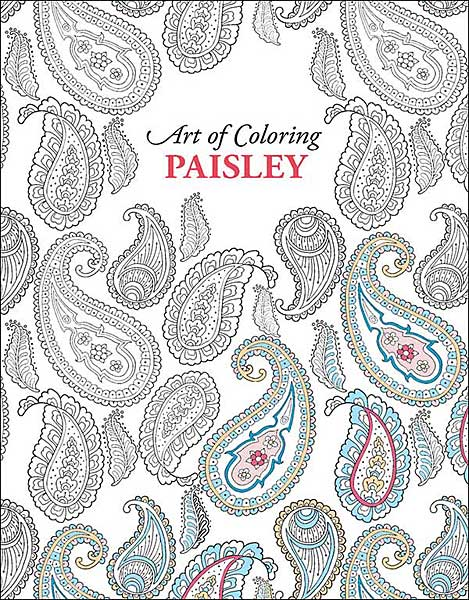Art of Coloring: Paisley