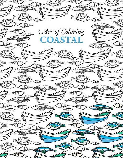 Art of Coloring: Coastal