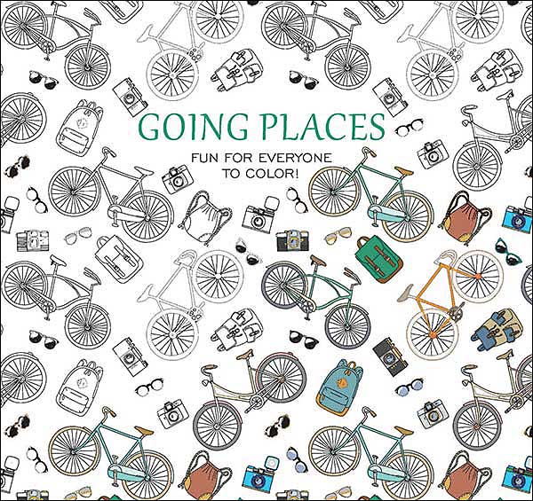 Going Places Coloring Book