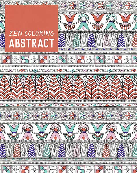 NEW Zen Coloring: Abstract