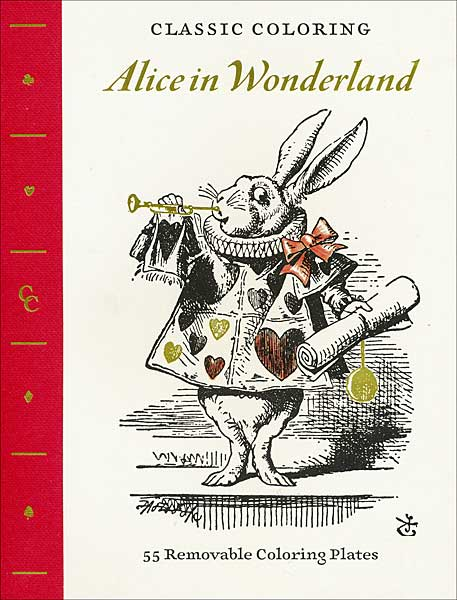 Classic Coloring: Alice in Wonderland