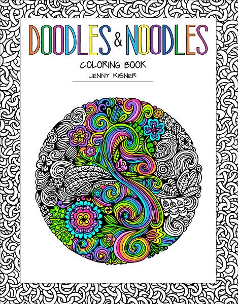 Doodles & Noodles Coloring Book