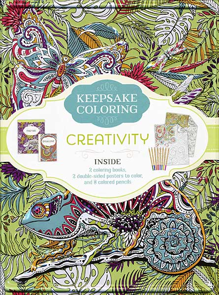 Keepsake Coloring Kit: Creativity
