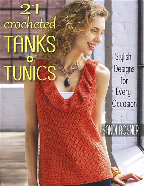 21 Crocheted Tanks + Tunics