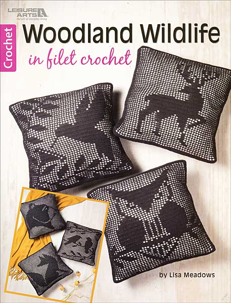 Woodland Wildlife in Filet Crochet