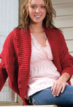 Cozy Cocoon Shrug Pattern Pattern