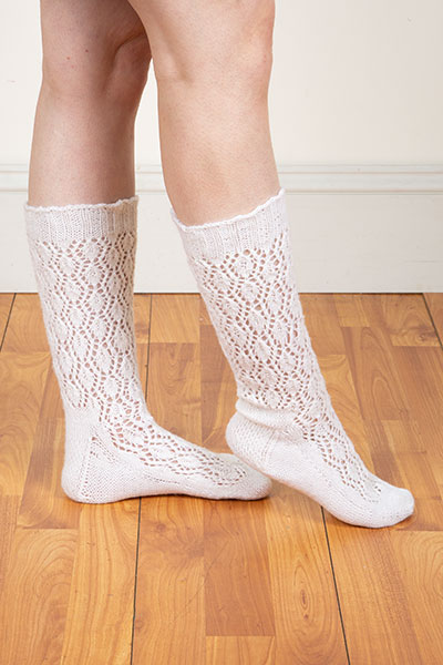 Ternion Knee-High Socks Pattern Pattern