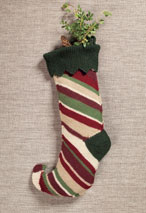 Elf Stocking Pattern Pattern