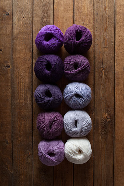 Velvet Glove Yarn Sampler
