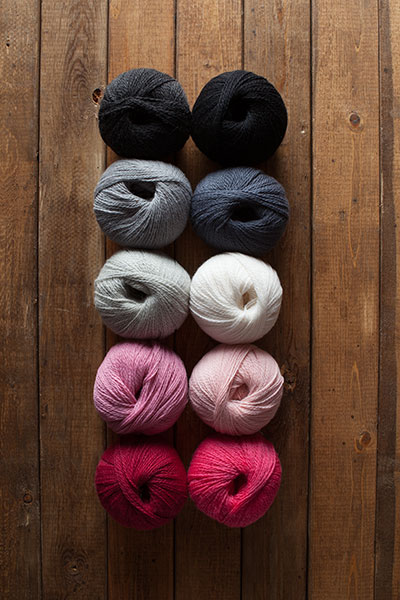 Vanity Fair Yarn Sampler