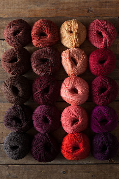 Fire Opal Yarn Sampler